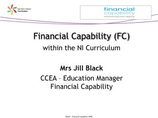 Financial Capability within the NI Curriculum