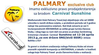 PALMARY exclusive club