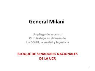 General  Milani