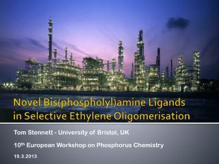 Novel  Bis ( phospholyl )amine Ligands in Selective Ethylene Oligomerisation