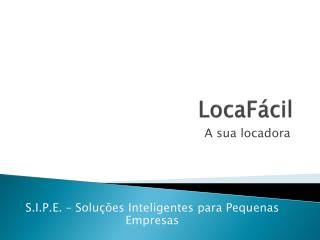 LocaF�cil