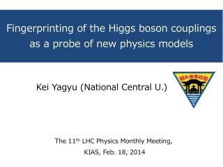 Fingerprinting of the Higgs boson couplings as  a probe of new physics models