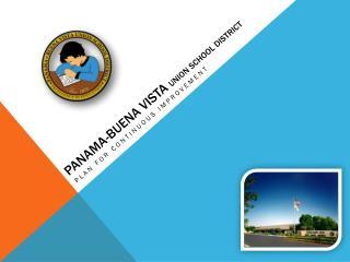 PANAMA-BUENA VISTA  UNION SCHOOL DISTRICT