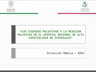 Dirección Médica - 2014