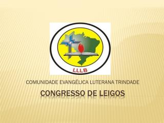 CONGRESSO DE LEIGOS