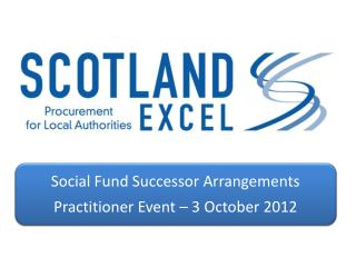 Overview of Scotland Excel