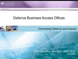 Defence Business Access Offices