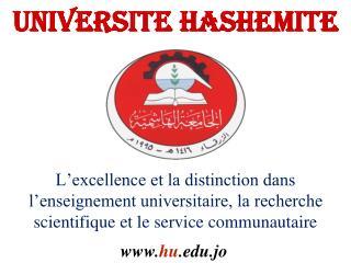 UNIVERSITE HASHEMITE