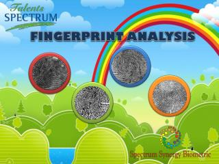 FINGERPRINT ANALYSIS