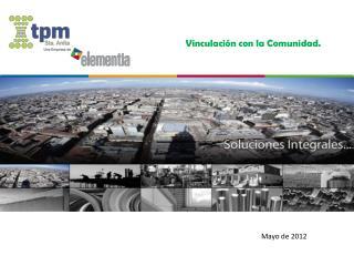 Mayo de 2012