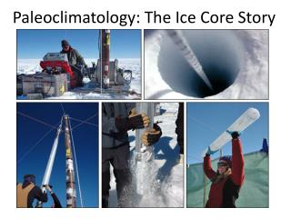 Paleoclimatology : The Ice Core Story
