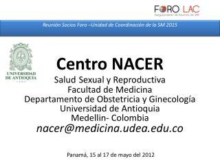 Panamá, 15 al 17 de mayo del  2012