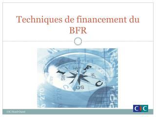 Techniques de financement du BFR