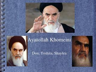 Ayatollah  Khomeini Don,  Toshita ,  Shaylea