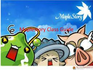 Maplestory  Class Guide
