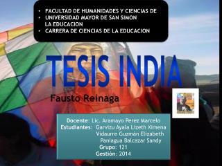 TESIS INDIA
