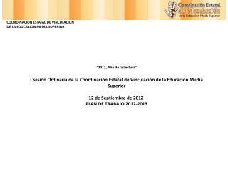 """""""2012, Año de la Lectura"""""""