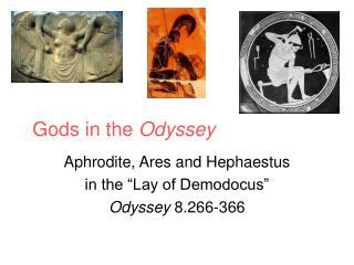 Gods in the Odyssey