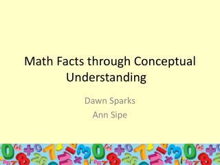 Math Facts through Conceptual Understanding