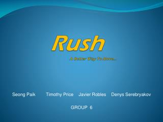 Rush A Better Way To Move…