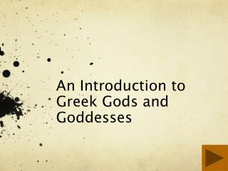 An Introduction to Greek Gods and Goddesses