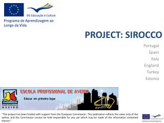 PROJECT:  SIROCCO