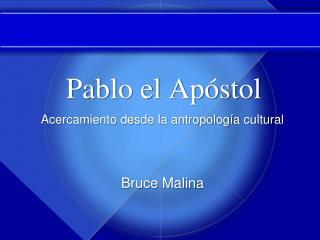 Pablo el Ap stol