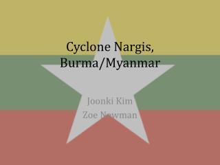 Cyclone Nargis, Burma/Myanmar