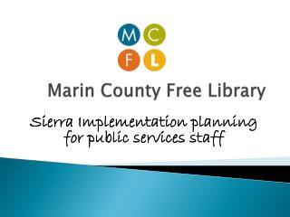 Marin County Free Library