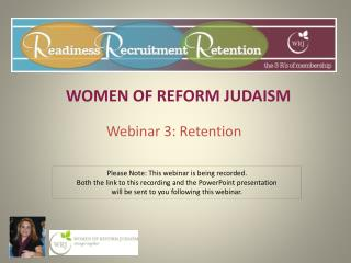 WOMEN OF REFORM JUDAISM