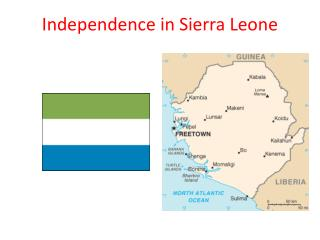 Independence in Sierra Leone