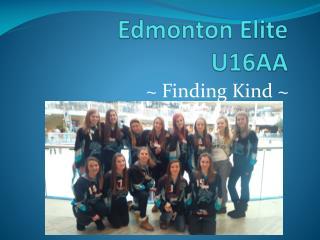 Edmonton Elite U16AA