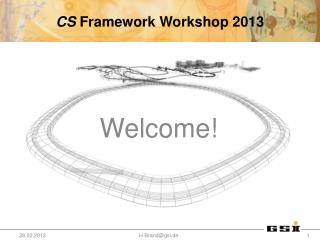 CS  Framework Workshop 2013
