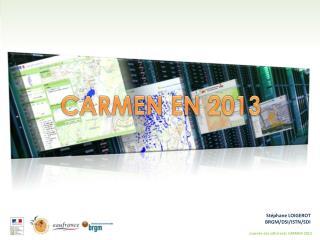 CARMEN EN 2013