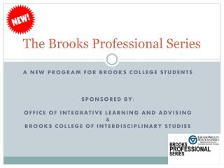 The Brooks Professional Series