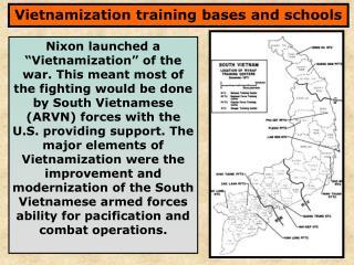 Vietnamization training bases and schools