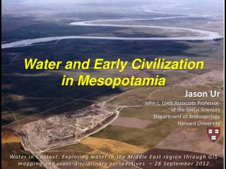 Water and Early Civilization in Mesopotamia