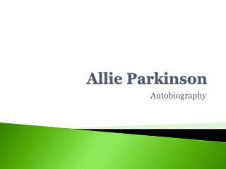 Allie Parkinson