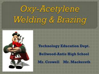 Oxy-Acetylene  Welding & Brazing