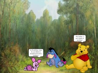 So Pooh Bear, what do you think we should do for Owl's birthday?