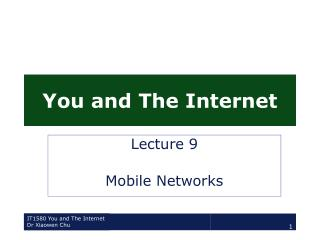 IT1580 You and The Internet