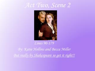 Act Two, Scene 2