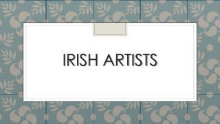 Irish Artists
