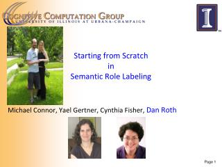 Starting from Scratch in  Semantic Role Labeling