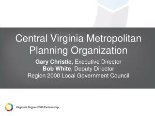 Central Virginia Metropolitan Planning Organization