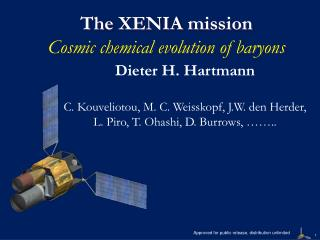 The XENIA  mission Cosmic chemical evolution of baryons