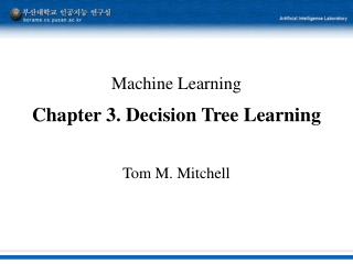 3. Decision Tree Learning