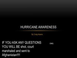 Hurricane Awareness