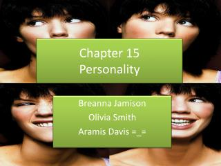 Chapter 15 Personality