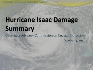 Hurricane Isaac Damage Summary